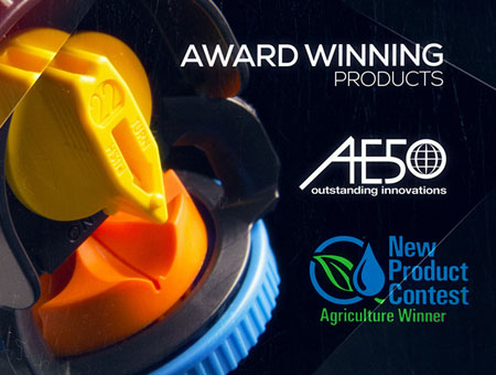 Nelson Irrigation Corporation Receives Two Awards For Its 3030 Series Pivot Sprinklers With The New 3nv Nozzle System