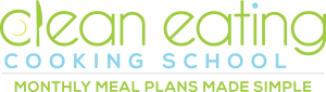 logo clean eating_with tagline