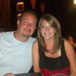 Jon Meyer with wife, Katie