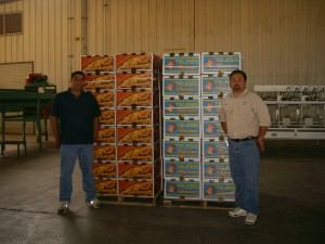 Mike Smythe on left – facility mgr, Danny J. Garcia on right