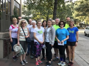 NOA Winter Convention 5k Run/Walk Participants hit the road in Savannah, GA
