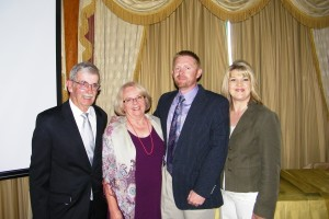 Bybee Family at Idaho Oregon Shippers Convention