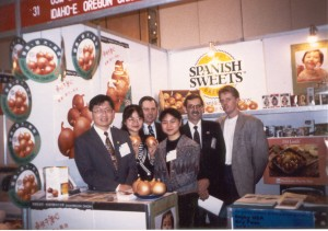 1995 China Trade Show with Garry and Marc Bybee