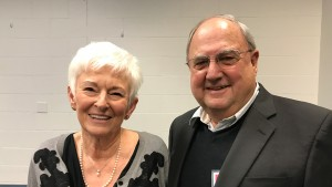 Hall of Fame Recipient, Clinton Wissel and wife, Judy