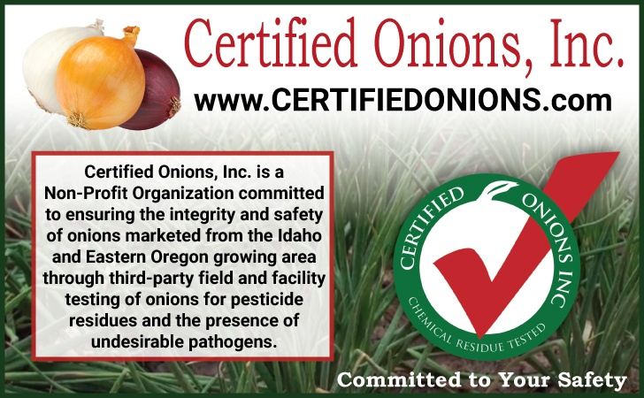 Certified Onions, Inc.